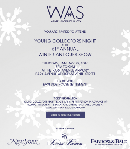 Young Collectors Night at the 61st Annual Winter Antiques Show