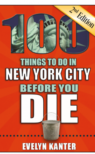 Bucket List for NYC Book Launch Celebration
