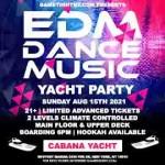 Manhattan EDM Sunday Sunset Yacht Cruise Skyport Marina Cabana Yacht