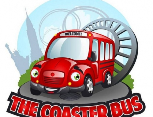 Book a Ride on The Coaster Bus for Amusement Park Day Trips
