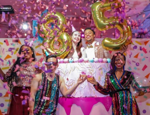 Glitter's 85th Birthday Bash at Rosé Mansion