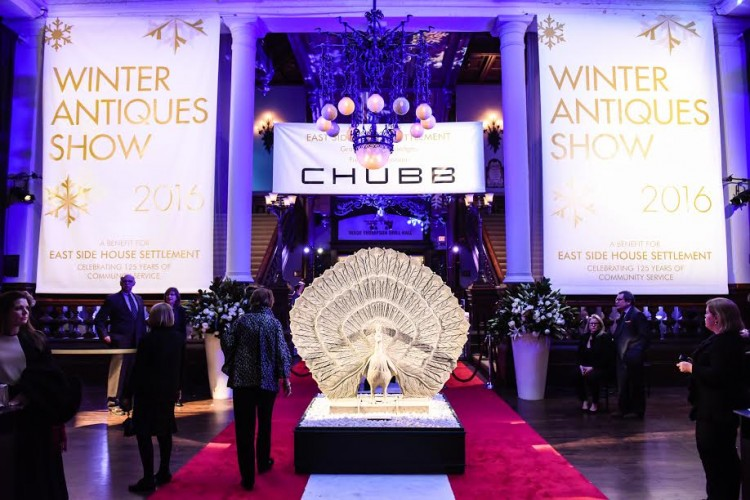 Young Collectors Night at the 62nd annual Winter Antiques Show