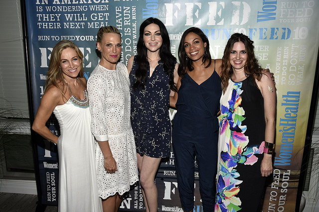 Women's Health Magazine: Living Well-thy to Partying Under the Stars in the Hamptons