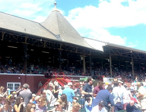 A Day at the Saratoga Springs Race Track