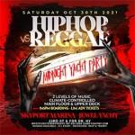 NY HipHop vs Reggae® Halloween Saturday Midnight SkyportMarina Jewel Yacht