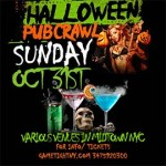 NYC Halloween Pub Crawl 2021 only $15