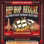 NYC Halloween Midnight Yacht Hip Hop vs Reggae® Pier 36 Majestic Princess