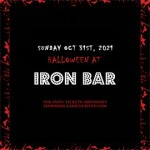Iron Bar Halloween party 2021 only $15