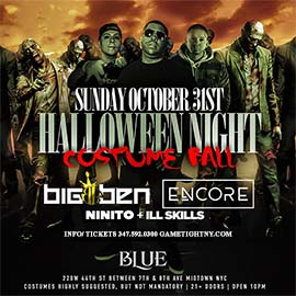 Blue Midtown NYC Halloween Sunday Night General Admission 2021