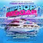 NYC Summer Sunset Hip Hop vs Reggae® Cruise Skyport Marina Jewel Yacht