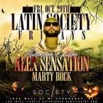 Alex Sensation Halloween party Society Lounge NJ 2021