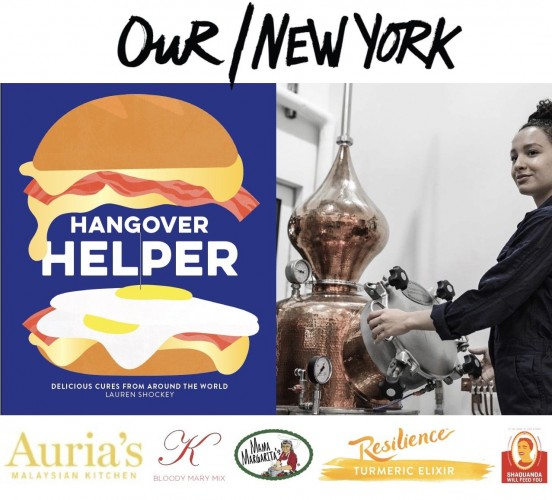 Celebrate Hangover Helper at the Our/New York Vodka Distillery