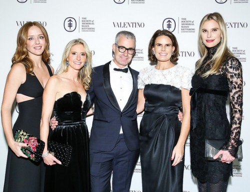The Society of Memorial Sloan Kettering and VALENTINO Host the Fall Party