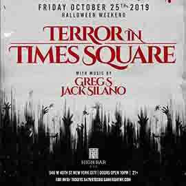 Highbar NYC Times Square Friday Halloween Party 2019