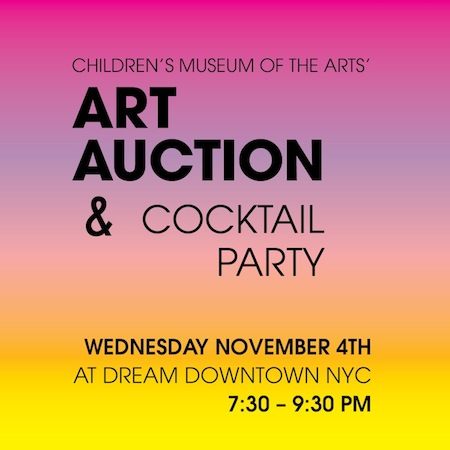 Children's Museum of the Arts 11th Annual Art Auction & Cocktail Party