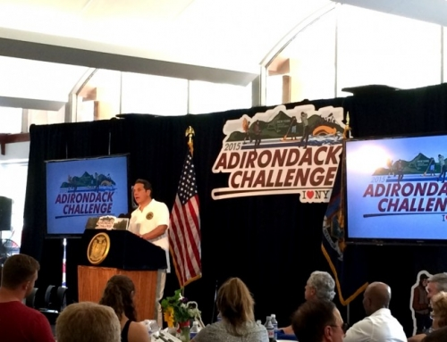 2015 Summer Adirondack Challenge with Governor Andrew Cuomo