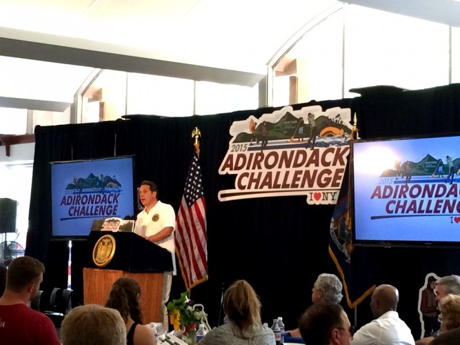 2015 Summer Adirondack Challenge with Governor Andrew Cuomo