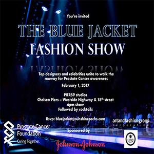 The Blue Jacket Fashion Show Benefitting Prostate Cancer Foundation