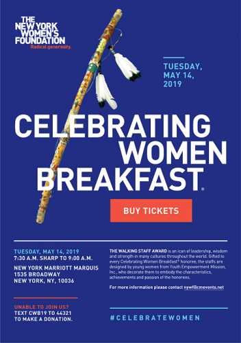 New York Women's Foundation Annual Celebrating Women® Breakfast