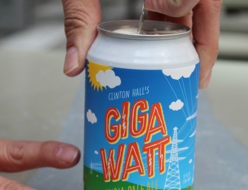 Clinton Hall Adds Canned Brewer to Repertoire with Gigawatt IPA