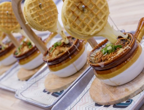 Clinton Hall & Kellogg's NYC Team Up To Create The French Onion Eggo Grilled Cheese For March