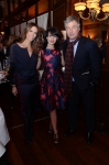 Cristina Cuomo, Hilaria Baldwin and Alec Baldwin at the Beach Magazine event at Bobby Vans 1.28.14 - photo by Andrew Werner