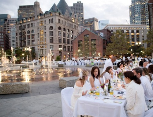 Dîner en Blanc Boston 2017