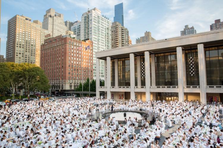 Dîner En Blanc: New York City 2019