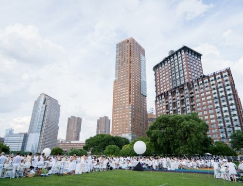 Mother Nature Takes Over Diner En Blanc NYC