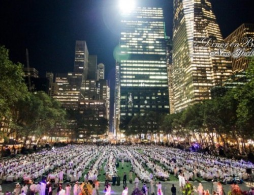 2017 Le Dîner en Blanc in New York City