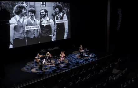 A THOUSAND THOUGHTS A Live Documentary by Sam Green and Kronos Quartet