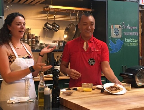 Easy Bake Oven Cooking Class with Joe Zee at Brooklyn Kitchen