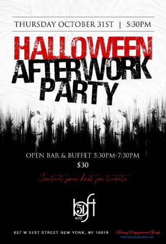 Halloween 2019 After Work Party at Loft 51