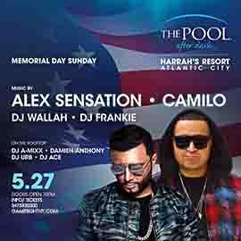 Harrahs Resort MDW Pool Party Alex Sensation & Dj Camilo 2018