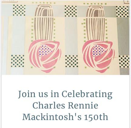 TALKS & TOASTS | Celebrating Charles Rennie Mackintosh's 150th