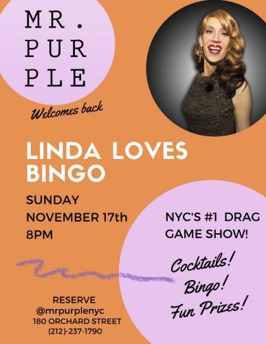 Drag Bingo with Linda Simpson