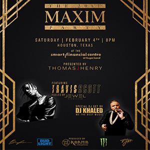 2017 Maxim Party Silent Auction