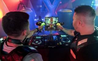 Lazer Brunch DJs