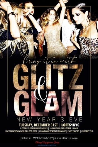 Glitz and Glam New Years Eve 2020