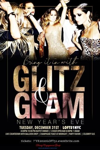 Glitz and Glam New Years Eve 2020