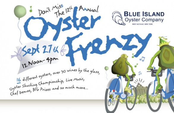 12th Annual Oyster Frenzy at the Historic Grand Central Oyster Bar