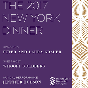 Prostate Cancer Foundation's 2017 NYC Dinner