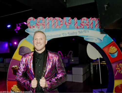 Take me to the Candy(land) Shop: TV Personality Josh McBride Hosts Annual Celebration at Playboy Club New York Restaurant and Bar