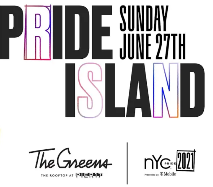 NYC Pride's Pride Island Watch Party at The Greens