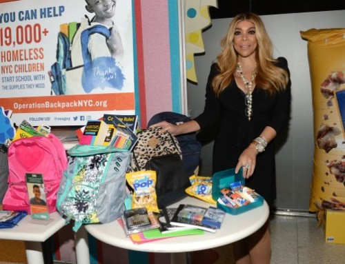 Wendy Williams and SNAX-Sational Celebrate #GivingTuesday with Operation Backpack