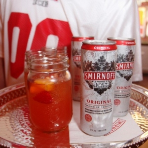 Guests attend as Smirnoff Ice hosts Ladies With Game Tailgate at Hudson Mercantile on September 3, 2014 in New York City.
