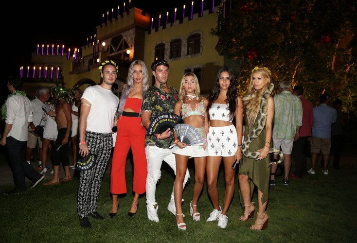 Sir Ivan's 60th Birthday Bash: Adam and Eve in the Hamptons