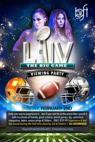 Super Bowl Viewing Party The Big Game 2020