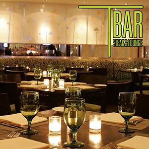 New Year's Eve Dinner at T-Bar Steak & Lounge