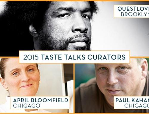 2015 Taste Talks Brooklyn with Dominique Ansel and Questlove